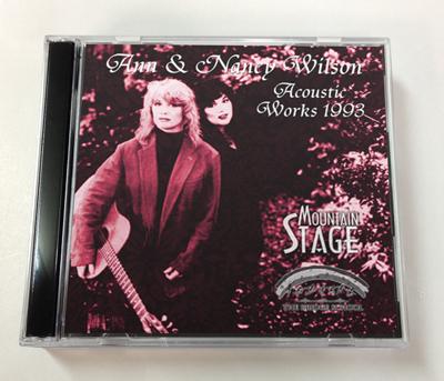 ANN & NANCY WILSON - ACOUSTIC WORKS 1993