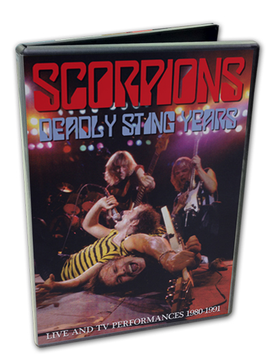 SCORPIONS - DEADLY STING YEARS
