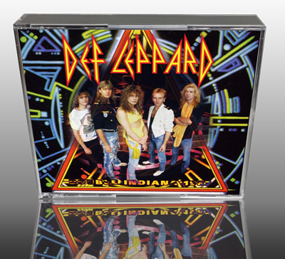 DEF LEPPARD - DOUBLE INDIANA 1987