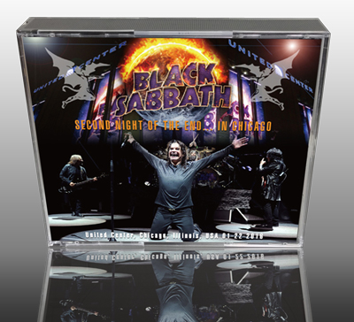 BLACK SABBATH - SECOND NIGHT OF THE END... IN CHICAGO