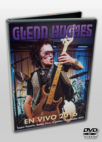GLENN HUGHES - EN VIVO 2016