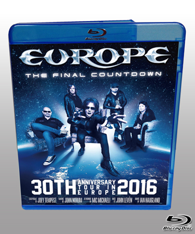 EUROPE - THE FINAL COUNTDOWN :30TH ANNIVERSARY TOUR IN EUROPE