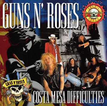 GUNS N' ROSES - COSTA MESA DIFFICULTIES