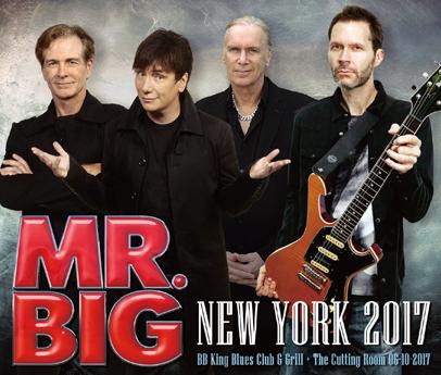 MR.BIG - NEW YORK 2017