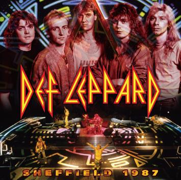 DEF LEPPARD - SHEFFIELD 1987