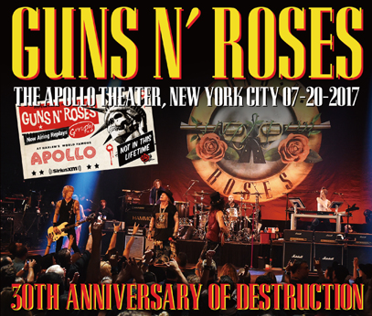 GUNS N' ROSES - 30TH ANNIVERSARY OF DESTRUCTION