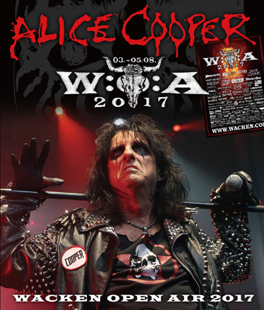 ALICE COOPER - WACKEN OPEN AIR 2017