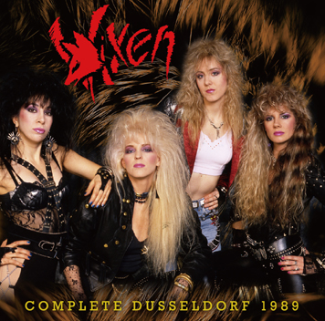 VIXEN - COMPLETE DUSSELDORF 1989