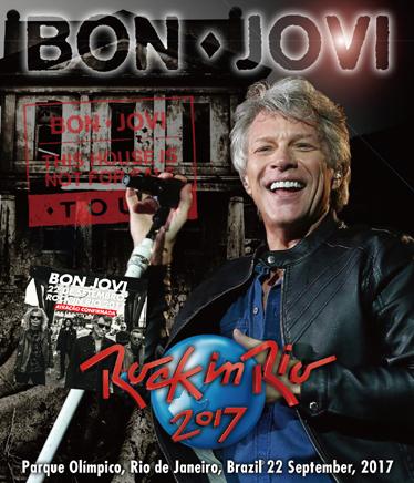 BON JOVI - ROCK IN RIO 2017