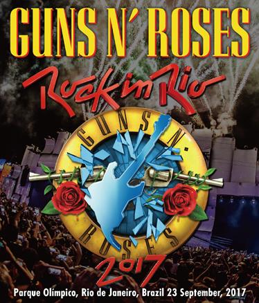 GUNS N' ROSES - ROCK IN RIO 2017