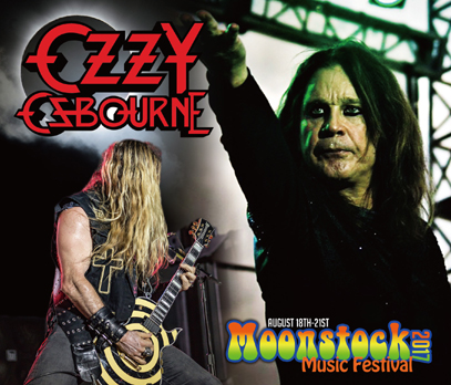 OZZY OSBOURNE - MOONSTOCK MUSIC FESTIVAL 2017