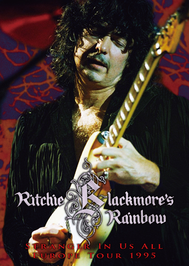 RITCHIE BLACKMORE'S RAINBOW - STRANGER IN US ALL EUROPE TOUR 1995