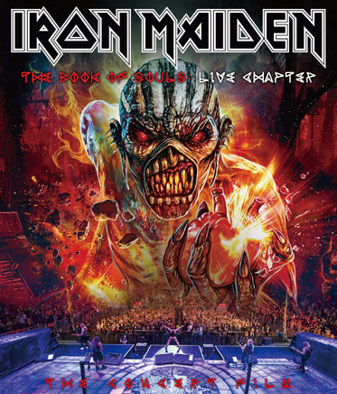IRON MAIDEN - THE BOOK OF SOULS: LIVE CHAPTER -CONCERT FILM