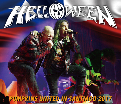 HELLOWEEN - PUMPKINS UNITED IN SANTIAGO 2017