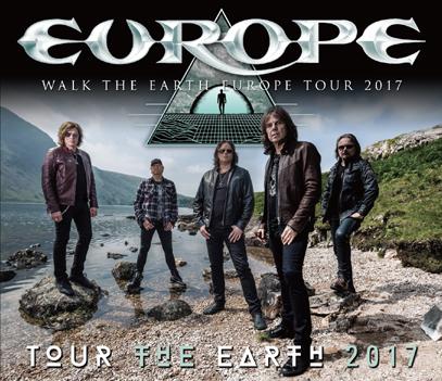 EUROPE - TOUR THE EARTH 2017