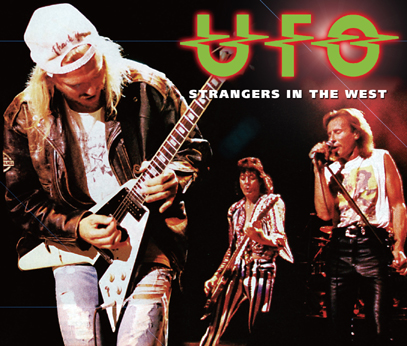 UFO - STRANGERS IN THE WEST