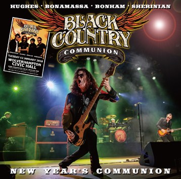 BLACK COUNTRY COMMUNION - NEW YEAR'S COMMUNION