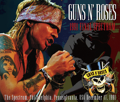 GUNS N' ROSES - 1991 FINAL SPECTRUM
