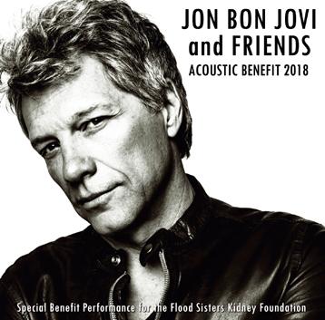 JON BON JOVI - ACOUSTIC BENEFIT 2018