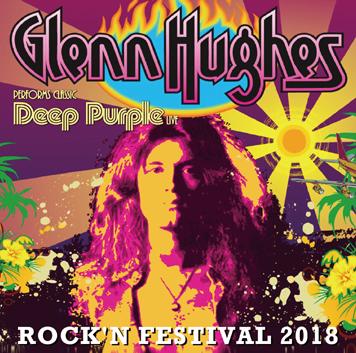 GLENN HUGHES - ROCK'N FESTIVAL 2018