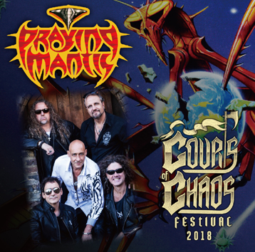PRAYING MANTIS - COURTS OF CHAOS FESTIVAL 2018