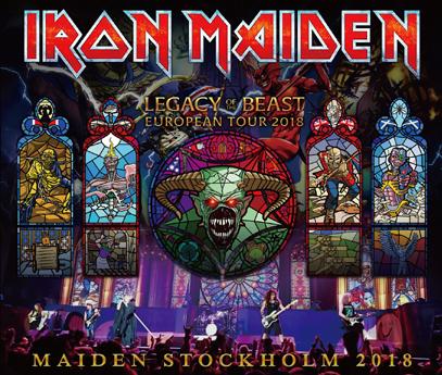 IRON MAIDEN - MAIDEN STOCKHOLM 2018