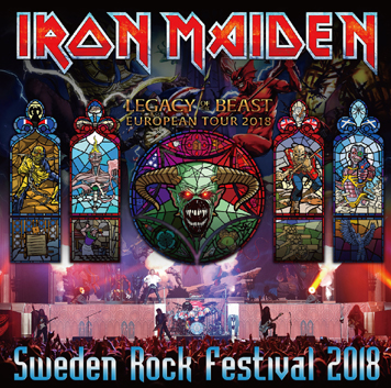 IRON MAIDEN - SWEDEN ROCK FESTIVAL 2018