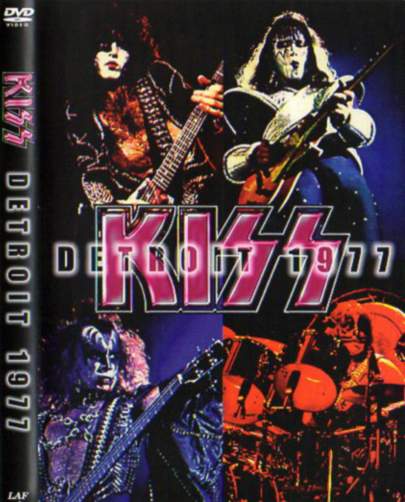 KISS - DETROIT 1977