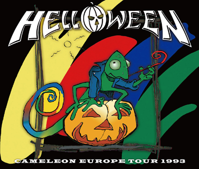 HELLOWEEN - CAMELEON EUROPE TOUR 1993