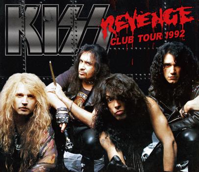 KISS - REVENGE CLUB TOUR 1992