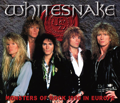 WHITESNAKE - MONSTERS OF ROCK 1990 IN EUROPE