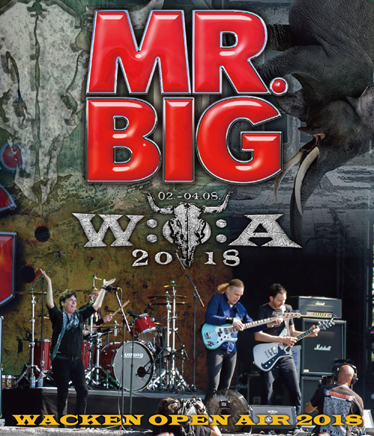 MR.BIG - WACKEN OPEN AIR 2018