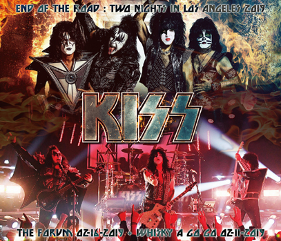 KISS  - TWO NIGHTS IN LOS ANGELES 2019