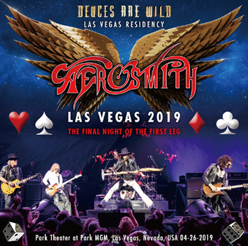 AEROSMITH - LAS VEGAS 2019 - THE FINAL NIGHT OF THE FIRST LEG (2CDR)