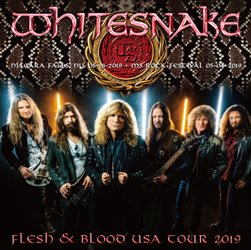 WHITESNAKE - FLESH & BLOOD USA TOUR 2019 (1CDR+1BDR)