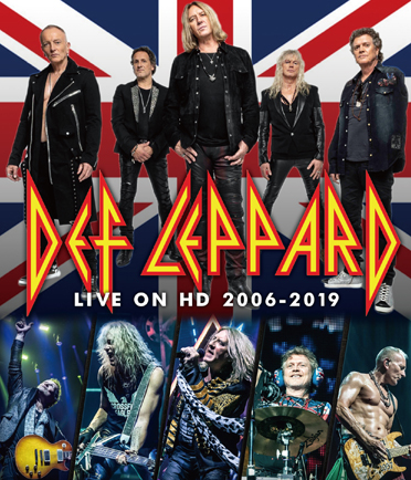 DEF LEPPARD - LIVE ON HD 2006-2019 (1BDR)
