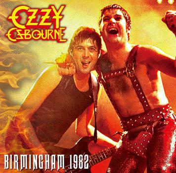 OZZY OSBOURNE - BIRMINGHAM 1982 (1CDR)