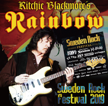 RITCHIE BLACKMORE'S RAINBOW - SWEDEN ROCK FESTIVAL 2019 (2CDR)