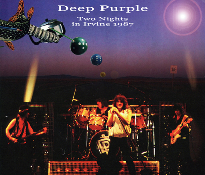 DEEP PURPLE - TWO NIGHTS IN IRVINE 1987 (3CDR)