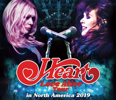 HEART - LOVE ALIVE TOUR IN NORTH AMERICA 2019 (3CDR)