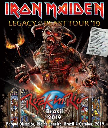 IRON MAIDEN - ROCK IN RIO BRASIL 2019 (1BDR)