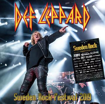 DEF LEPPARD - SWEDEN ROCK FESTIVAL 2019 (2CDR)