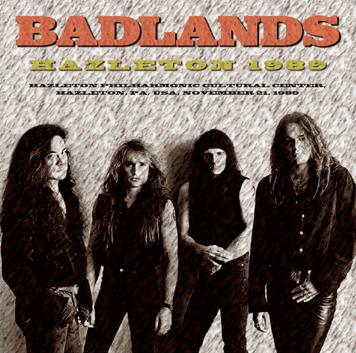 BADLANDS - HAZLETON 1989 (1CDR)