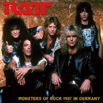 RATT - MONSTERS OF ROCK 1987 IN GERMANY (2CDR)