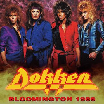 DOKKEN - BLOOMINGTON 1986 (1CDR)