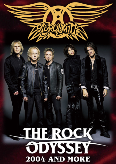 AEROSMITH - THE ROCK ODYSSEY 2004 AND MORE (1DVDR)
