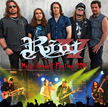 RIOT V - METAL ASSAULT FESTIVAL 2014 (1CDR)