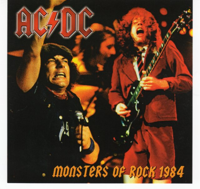 AC/DC - MONSTERS OF ROCK 1984