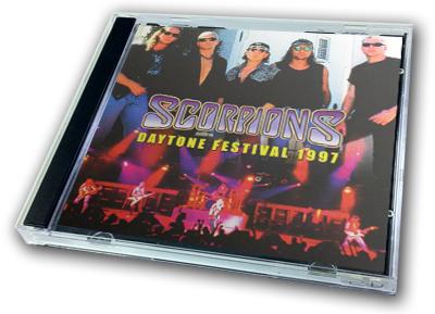 SCORPIONS - DAYTONE FESTIVAL 1997