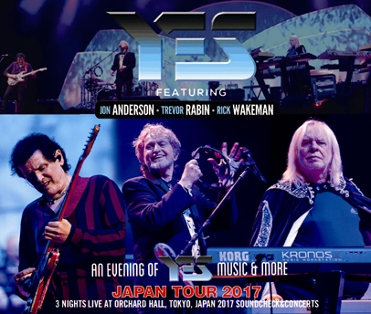 YES feat. ANDERSON, RABIN, WAKEMAN - JAPAN TOUR 2017